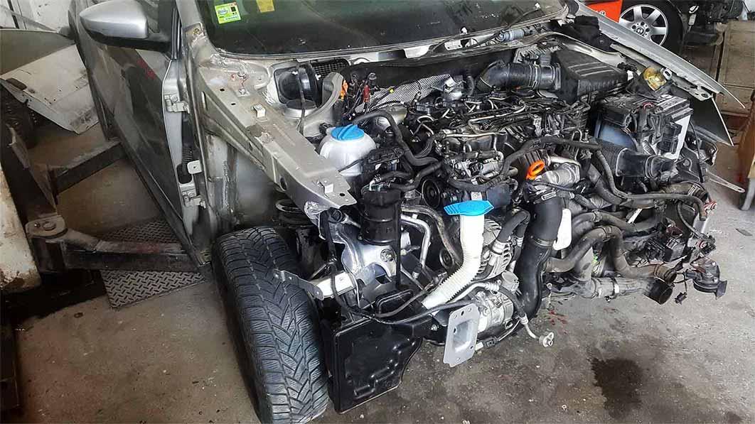Επανατοποθέτηση του κινητήρα του αυτοκινήτου