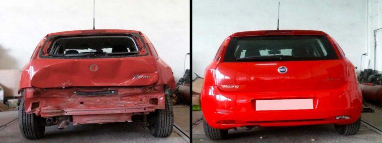 Επισκευή Fiat Punto στο φανοποιείο auto-iraklis.gr